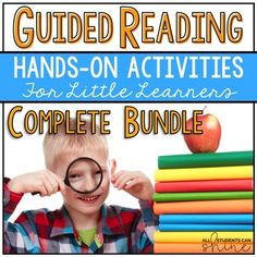 Guided ReadingThese games are perfect for small guided reading groups and/or RTI. Your little learners are sure to love playing these hands-on activities!Here are the contents of this COMPLETE BUNDLE:Letter Sounds