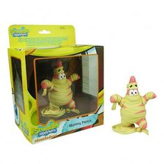 Spongebob Squarepants World Series 1 Mummy Patrick Mini Figure Toys for sale online Spongebob Squarepants Toys, Funko Pop Toys, Spongebob Patrick, Toy People, Toy Sale, World Series, Winnie The Pooh, Cool Things To Buy, Entertaining