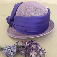 """5 Likes, 1 Comments - Rosie B Millinery (@rosiebmillinery) on Instagram: """"If you're looking for a new summer occasion hat, look no further! Our purple cloche is perfect to…"""""""