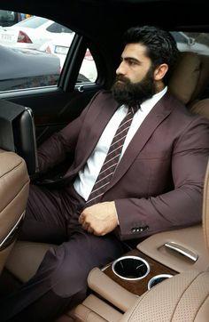 Beards. Men. Classy. Style. Comfort.