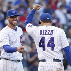 Kris Bryant and Anthony Rizzo