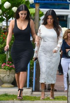 Kim Kardashian Photos: The Kardashian Sisters Visit DASH