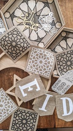Celebrate Eid in style this year with our extensive range of Eid & Ramadan decorations, tableware, gift boxes & more! Eid Crafts, Diy And Crafts, Ramadan Gifts, Eid Gift, Eid Balloons, Decoraciones Ramadan, Eid Mubarak Stickers, Eid Cake, Decoration Table