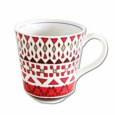 マグカップ コップ musbu 紅小紋 マグ 29128|雑貨屋【ポンパレモール】