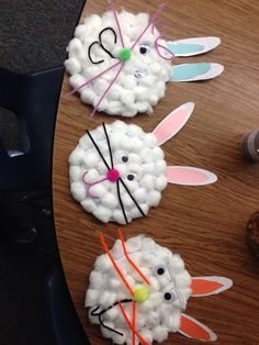 My kiddos Easter art project! Mine is the middle one!