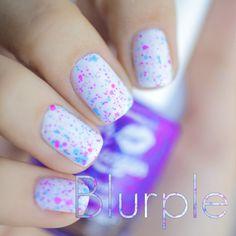 Lush Lacquer Blurple - looks like confetti!