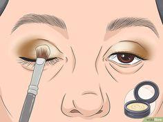 Applying Eye Makeup, How To Apply Eyeshadow, Eye Makeup Tips, How To Apply Makeup, Eyebrow Makeup, Makeup Tricks, Eyeshadow Makeup, Eyeshadow Tips, Dark Eyeshadow