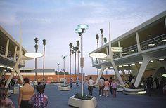 Walt Disney World, 1971, pre-Tomorrowland expansion.
