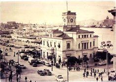 Το 1968 κατεδαφίζεται το ρολόι του Πειραιά. Greece Pictures, Old Pictures, Old Photos, Attica Athens, Athens Greece, Bauhaus, Amazing Destinations, Historical Photos, Vintage Images