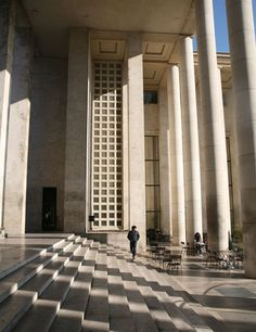 Palais de Tokyo in Paris is a building dedicated to modern and contemporary art.