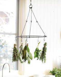Herb drying rack. I think this would be easy to make.