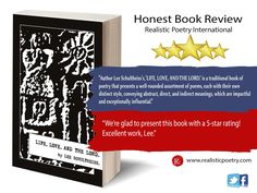 5-Star Review from Realistic Poetry International Poetry International, Book Of Life, This Book, Traditional Books, Book Review, Letter Board, Meant To Be, Poems, Lord