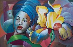 Haitian Art by Patrice Piard: Genevieve (Not Available) (For The ...