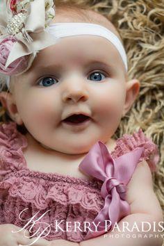 Sweet baby girl Ariah
