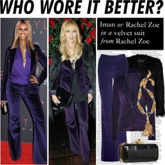 """Who Wore It Better: Iman or Rachel Zoe"" by polyvore-editorial ❤ liked on Polyvore"