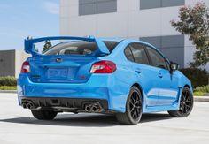 Yes, they're awfully close to BMW's Yas Marina Blue, but I have to admit Subaru's limited-edition Series Hyper.Blue BRZ and WRX STI look sexy as hell. 2016 Subaru Wrx, Subaru Impreza, Subaru Cars, New Sports Cars, Sport Cars, Colin Mcrae, Marina Blue, Sports Sedan, Tuner Cars