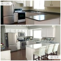 Before & After - White Diamond
