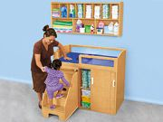 Step On Up! Changing Table & Wall Unit