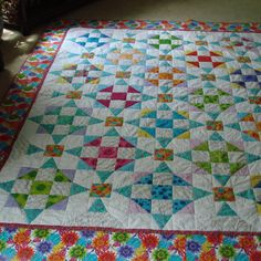 Calypso paplan - Quilters Club of America Quilting Tutorials, Quilting Projects, Quilting Designs, Quilting Ideas, Craft Projects, Patchwork Patterns, Quilt Patterns Free, Free Pattern, Block Patterns