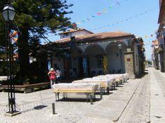 caminha Portugal, Patio, Outdoor Decor, Home Decor, Terrace, Interior Design, Home Interiors, Decoration Home, Interior Decorating