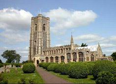 Lavenham Parish Church Notre Dame, Places Ive Been, Mansions, House Styles, Building, Travel, Viajes, Manor Houses, Villas