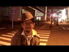 立ち止まるロッキー★decodolphinのハット★歩くアート2013(arukuart2013)