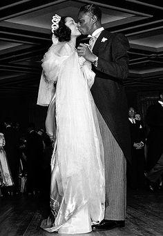 Nat King Cole & Maria Cole.