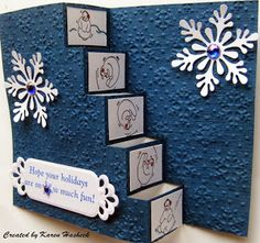 TUTORIAL http://karenskreativekards.blogspot.com/2013/12/its-my-turn-for-project-of-week-at.html