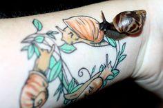 .snails by ~vhorrigan on deviantART