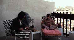 Balcony vibes - All the President's Men 1976 Dustin Hoffman