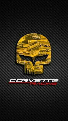 Evolution of the Corvette and the Crossed Flags Logo  tattoo