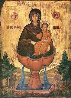 Живоносный источник (также Живоносная Источница, Живоприемный Источник или Источная) — икона Божией Матери