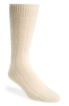John W. Nordstrom® Cable Knit Socks