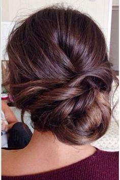 Love this simple hair style