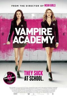 Vampire Academy - In the beginning of the movie Rose irritated me, but later I loved her. It's not your regular vampire teen movie. Can't wait to read the books! Girly Movies, Teen Movies, Netflix Movies, Comedy Movies, Series Movies, Movies And Tv Shows, Movies Free, Book Series, Movies Online