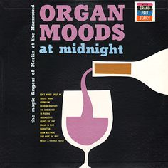 Project Thirty-Three: Organ Moods at Midnight Lp Cover, Vinyl Cover, Cover Art, Cool Album Covers, Booklet Design, Album Cover Design, Vintage Records, Music Images, Abstract Shapes
