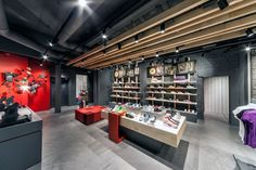 bikers store | ... visual merchandising & shop reviews - Puma store in Amsterdam