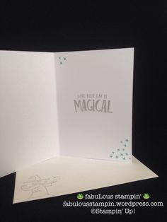Stampin' Up! Magical Day bundle wizard happy birthday card black white striped tutti frutti DSP Bubbles and Frizz DSP