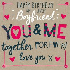 10 best birthday wishes for boyfriend images on pinterest the collection of romantic and unforgettable birthday wishes for boyfriend 2 m4hsunfo