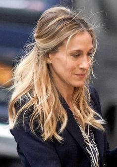 Sarah Jessica Parker Updo Hairstyle