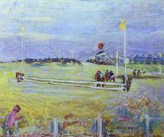 Race at Bologne, Pierre Bonnard Medium: oil,canvas Pierre Bonnard, Watercolor Paintings Abstract, Watercolor Artists, Abstract Oil, Painting Art, Oil Canvas, Canvas Art, Indian Paintings, Oil Paintings