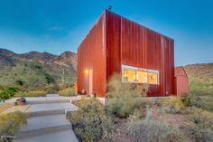 Tiny modern cube home boasts spectacular desert views | Inhabitat - Green Design, Innovation, Architecture, Green Building
