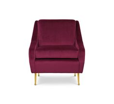 Romero Armchair is inspired by a character full of enthusiasm and drama. With strong shapes and hard edges, Romero has a strong presence that goes unnoticed. Brass feet add a fine detail to this robust piece. The perfect company after a long day.