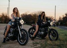 Cafe racer girls.