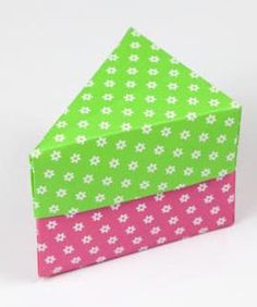 This Triangle Origami Box Makes a Perfect Gift Box