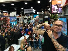 Sutter says bye bye to #ComicCon2014 pic.twitter.com/hGrpNguKsm