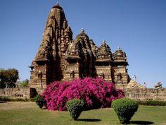 The Northern Hindu Temple in Khajuraho, India