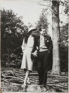 1957 - Coco Chanel & Serge Lifar by Mark Shaw 4 Life