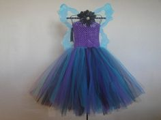Lunar Fairy Tutu Dress Set by MonkeysCubbyhole on Etsy, $35.00