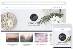 There's more that goes into choosing a wordpress theme than just picking a cute one. Use this 10 feminine wordpress themes as inspiration plus learn how to choose right.